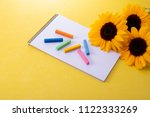 painter image of a pastel and... | Shutterstock . vector #1122333269