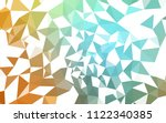 light green  yellow vector... | Shutterstock .eps vector #1122340385
