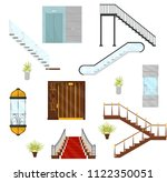 flat vectoe set of different... | Shutterstock .eps vector #1122350051
