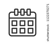 schedule calendar icon black...