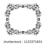 vector retro frames .vector... | Shutterstock .eps vector #1122371831