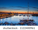 panoramic view of the beautiful ... | Shutterstock . vector #1122400961