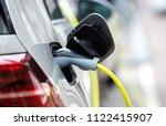innovative electric hybrid car...   Shutterstock . vector #1122415907