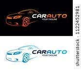 auto car logo | Shutterstock .eps vector #1122452981