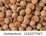 fresh italian amarettini pastry ... | Shutterstock . vector #1122477467