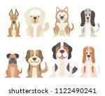 collection of different kinds... | Shutterstock .eps vector #1122490241