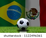 football cup competition... | Shutterstock . vector #1122496361