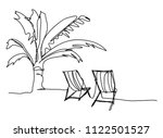 continuous line drawing of... | Shutterstock .eps vector #1122501527