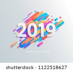 Creative Happy New Year 2019...