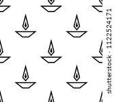 deepak ornamental seamless... | Shutterstock .eps vector #1122524171