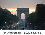 paris  france   august 2 4 ... | Shutterstock . vector #1122552761
