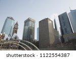 view of downtown toronto ... | Shutterstock . vector #1122554387