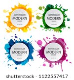 abstract artistic background ... | Shutterstock .eps vector #1122557417
