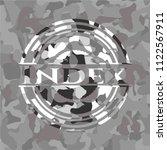 index grey camouflage emblem | Shutterstock .eps vector #1122567911