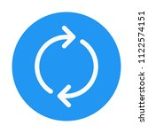 loop with clockwise rotation   Shutterstock .eps vector #1122574151