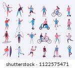 vector illustration in flat... | Shutterstock .eps vector #1122575471