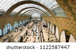 paris  france   may 2018  a... | Shutterstock . vector #1122587447