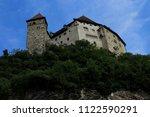 gutenberg castle in balzers... | Shutterstock . vector #1122590291