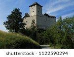 gutenberg castle in balzers... | Shutterstock . vector #1122590294