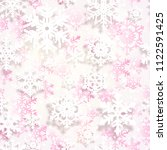 winter background with... | Shutterstock . vector #1122591425