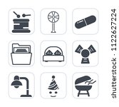 premium outline  fill icons set ... | Shutterstock .eps vector #1122627224