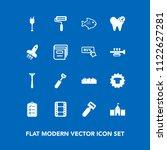 modern  simple vector icon set... | Shutterstock .eps vector #1122627281