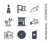premium outline  fill icons set ... | Shutterstock .eps vector #1122643151