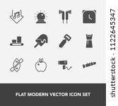 modern  simple vector icon set... | Shutterstock .eps vector #1122645347