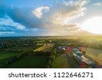 biogas plant for power... | Shutterstock . vector #1122646271