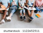 photo of studying students... | Shutterstock . vector #1122652511