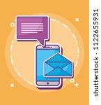 smartphone device design | Shutterstock .eps vector #1122655931