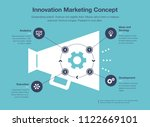 simple infographic for... | Shutterstock .eps vector #1122669101