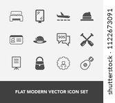 modern  simple vector icon set... | Shutterstock .eps vector #1122673091