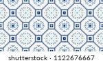 talavera pattern.  azulejos... | Shutterstock .eps vector #1122676667