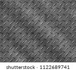 stainless steel texture or... | Shutterstock . vector #1122689741