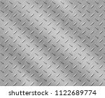 stainless steel texture or... | Shutterstock . vector #1122689774