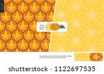 food patterns   fruit  vector...   Shutterstock .eps vector #1122697535