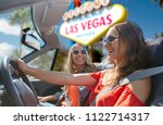 summer holidays  road trip and... | Shutterstock . vector #1122714317