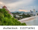 mountain and sea at khao ta... | Shutterstock . vector #1122716561
