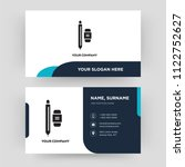 writer  business card design... | Shutterstock .eps vector #1122752627