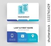 copy  business card design... | Shutterstock .eps vector #1122761429