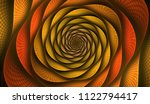 Abstract Fractal With Grids And ...