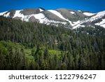 springtime view of wilderness... | Shutterstock . vector #1122796247