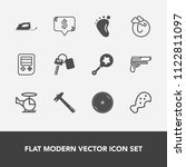 modern  simple vector icon set... | Shutterstock .eps vector #1122811097