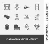 modern  simple vector icon set...   Shutterstock .eps vector #1122814094