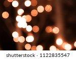 abstract circular bokeh... | Shutterstock . vector #1122835547