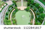 a symmetrical birds eye view of ... | Shutterstock . vector #1122841817