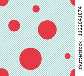 seamless abstract vector... | Shutterstock .eps vector #1122841874