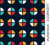 seamless abstract vector... | Shutterstock .eps vector #1122841877