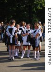 moscow  russia   september 01 ... | Shutterstock . vector #112285271